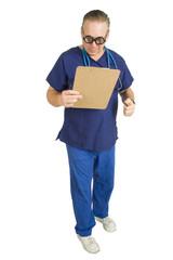 male nurse or doctor