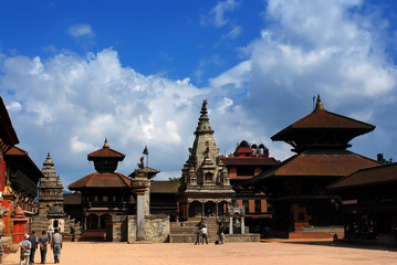 Patan Durbar Square at Kathmandu, Nepal