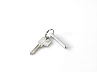 Schlüsselbund ein Schlüssel