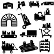 Manufacturing Icon Set