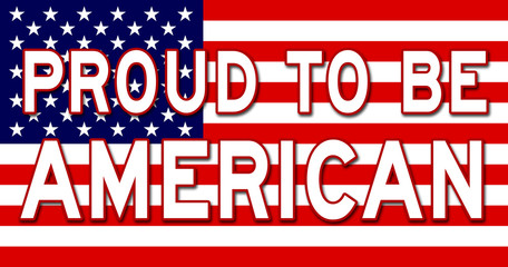 proud to be american sign