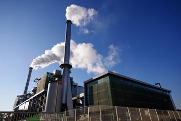 usine d'incinération