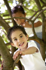 kids portrait having fun