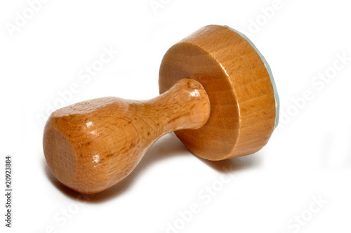 Tampon rond en bois