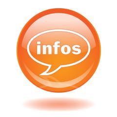 Bouton Web INFOS (Direct Actualités Lire Voir Ecouter Live News)