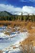 Colorado Rocky Mountains in Winter