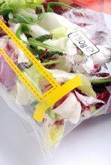 insalata confezionata uno