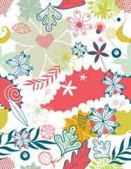 vector flower background