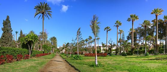 Montaza park on Montaza Palace area, in Alexandria, Egypt.