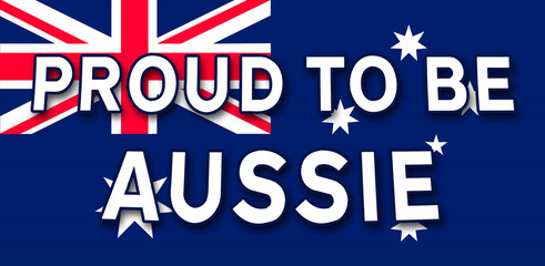 proud to be aussie sign