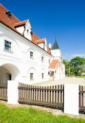 renaissance water mill, Slup, Czech Republic