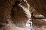 Echo Canyon Grotto in Chiricahua National monument, Arizona poster