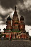 Fototapete Basis - Rot - Historische Bauten
