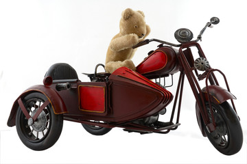 Teddy biker