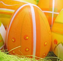 Orange Easter Egg - Osterei
