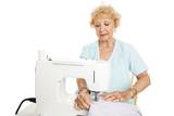 Skilled Senior Seamstress poster