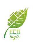 Eco Logotype poster