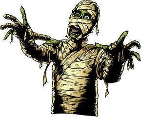 Comic Book Mummy