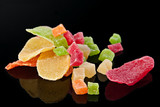 Candided fruit slices poster