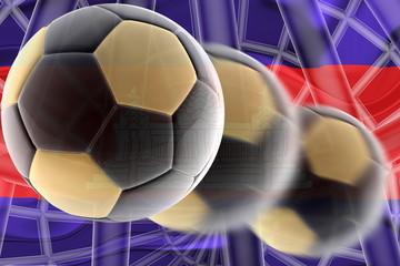 Cambodia flag wavy soccer