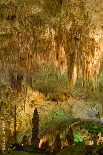 Chamber in Carlsbad Caverns national park, New Mexico, USA