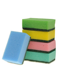Set color sponge for washing