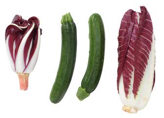 Radicchio e zucchino