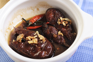 Vietnames Fish Simmered in Caramel Sauce Ca Kho To