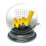 crystal ball investment forecast poster