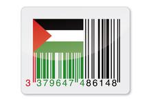 Identyfikowalność - Palestyna kod kreskowy