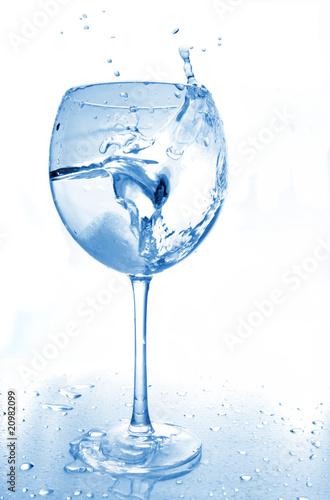 Splash in glass © Kushch Dmitry