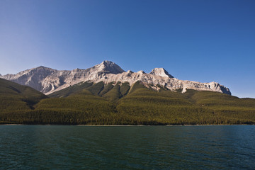 Lake Minnewanka - Banff National Park - Alberta - Canada