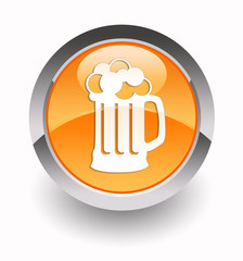 ''Beer'' glossy icon