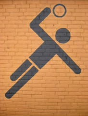 team handball pictogram