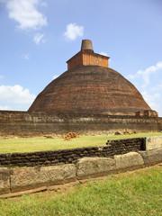 buddhist stupa at anaradhapura
