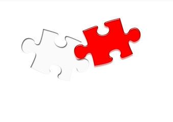 Encajando una pieza de puzzle
