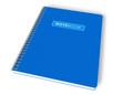 Blue notebook