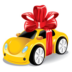 car as a gift to you