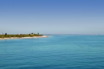 Caribbean Mexican turquioise sea view