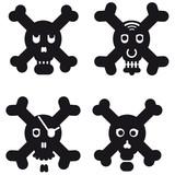 crossbones & skulls poster
