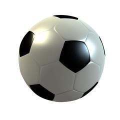 ballon de football en 3d