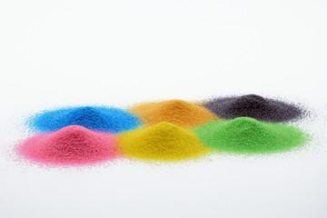 farbpigmente haufen