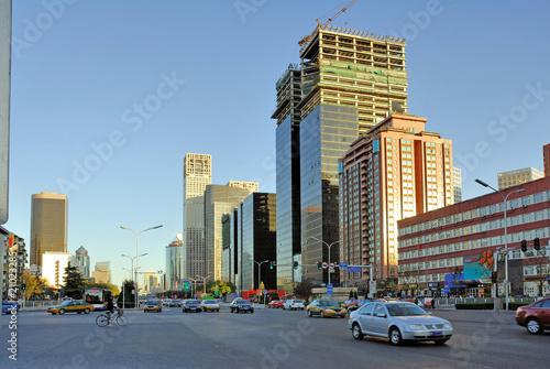 Foto op Aluminium Beijing China Beijing, street scene