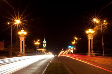 Night avenue