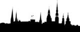 Riga panorama poster