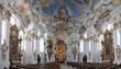 Wieskirche, Innenaufnahme, Bayern, Deutschland