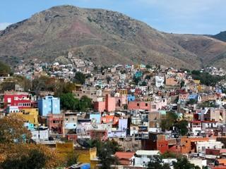 Point de vue sur Guanajuato