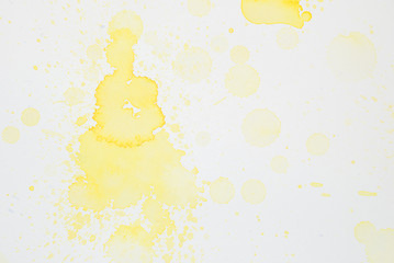 yellow watercolor 11