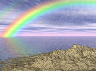 Rainbow in Tropics