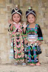 Mädchen von Asien Hmong